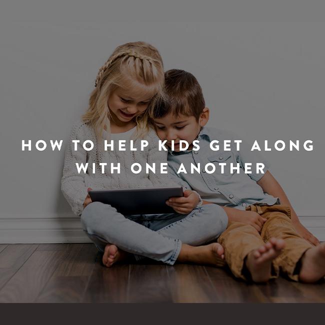 How to help kids